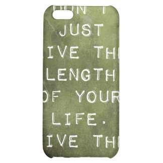 Reminder to Live iPhone 5C Cover