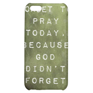 Reminder to Pray iPhone 5C Cover