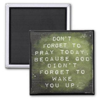 Reminder to Pray Magnet