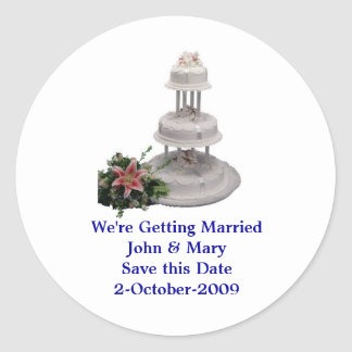 Reminder We're Getting Married Stickers