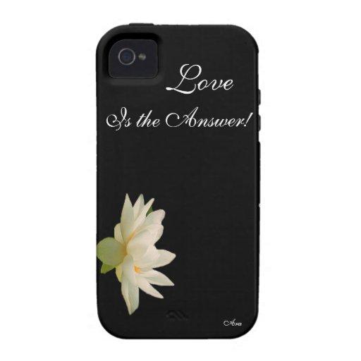 REMINDERS-LOVE DIARIO ES EL DISEÑADOR DE ANSWER-AR iPhone 4/4S CARCASAS