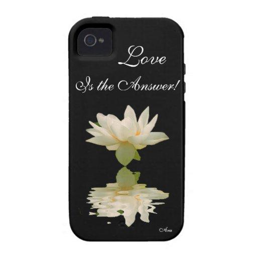 REMINDERS-LOVE DIARIO ES EL DISEÑADOR DE ANSWER-AR iPhone 4/4S FUNDAS