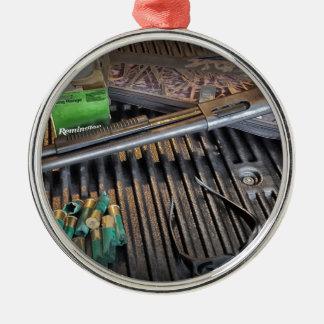 Remington 870 Tactical Shotgun Metal Ornament