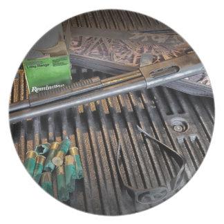 Remington 870 Tactical Shotgun Plate