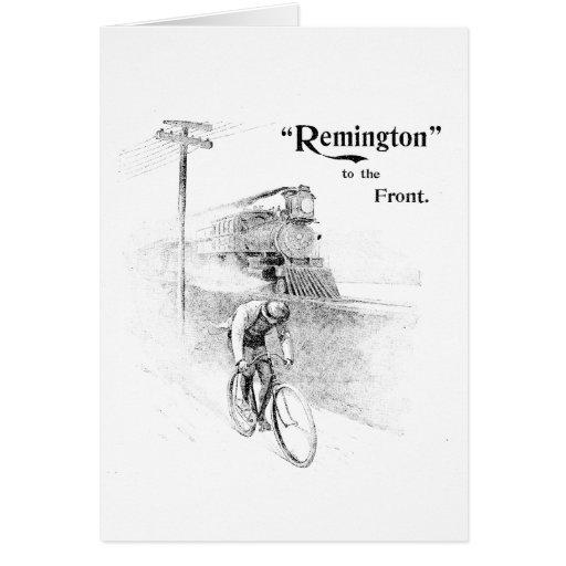 Remington Bicycles Card