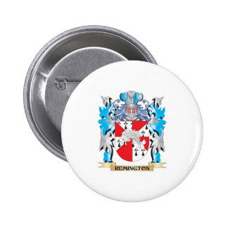 Remington Coat of Arms - Family Crest 2 Inch Round Button