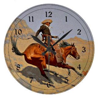Remington El vaquero arte americano del vaquero Relojes