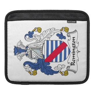 Remington Family Crest iPad Sleeves