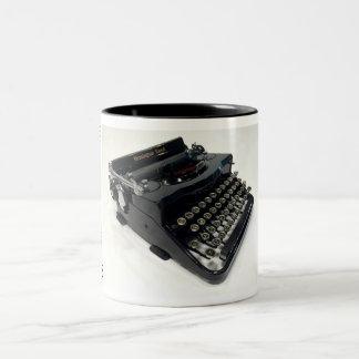 Remington Rand Model 1 typewriter Two-Tone Coffee Mug