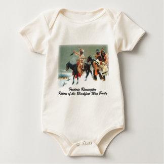 Remington - Return of the Blackfoot War Party Baby Creeper