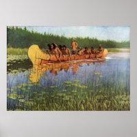Remington 's Great Explorers print