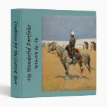 Remington's Cavalryman of the Line, Mexico (1889) Binders