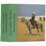 Remington's Cavalryman of the Line, Mexico (1889) 3 Ring Binders