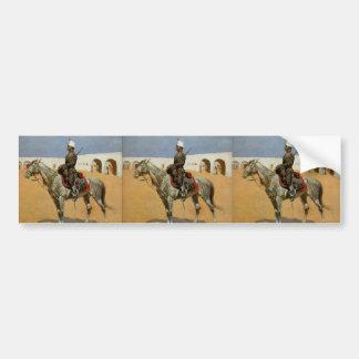 Remington's Cavalryman of the Line, Mexico (1889) Bumper Stickers