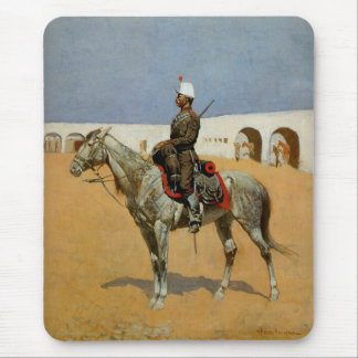 Remington's Cavalryman of the Line, Mexico (1889) Mouse Pad
