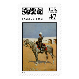 Remington's Cavalryman of the Line, Mexico (1889) Postage