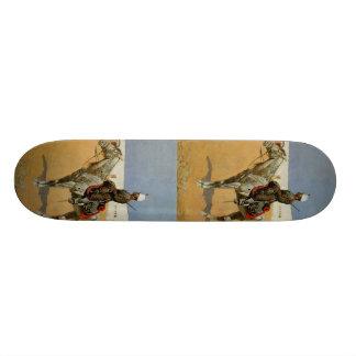 Remington's Cavalryman of the Line, Mexico (1889) Skateboard Deck
