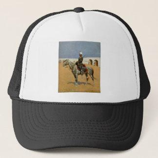 Remington's Cavalryman of the Line, Mexico (1889) Trucker Hat