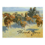 Remington's Downing the Nigh Leader Post Cards