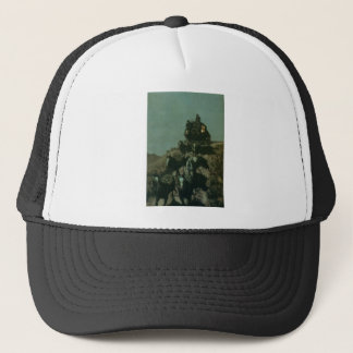 Remington's Old Stagecoach of the Plains (1901) Trucker Hat