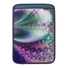 Reminiscent Iridescent Opalescent Fractal MacBook Air Sleeve