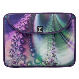 Reminiscent Iridescent Opalescent Fractal Sleeves For MacBooks