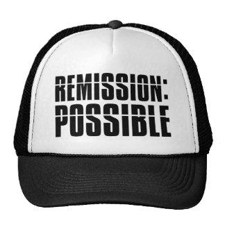 Remisión posible gorra