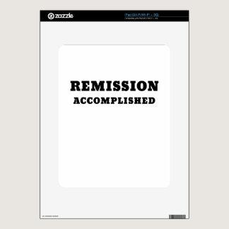 Remission Accomplished iPad Skin