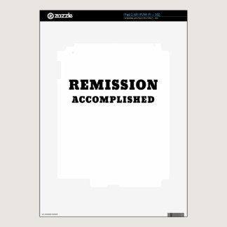 Remission Accomplished Skins For iPad 2