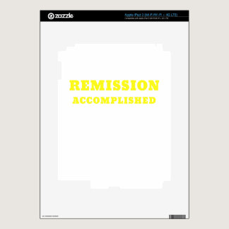 Remission Accomplished Skins For iPad 3