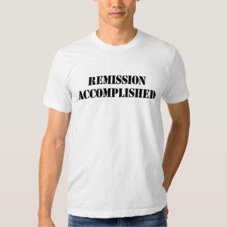 Remission Accomplished Tee Shirt