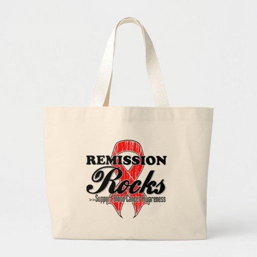 Remission Rocks - Blood Cancer Awareness Jumbo Tote Bag