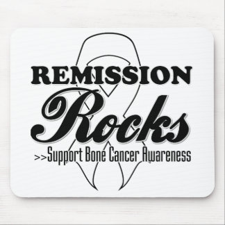 Remission Rocks - Bone Cancer Awareness Mouse Pad