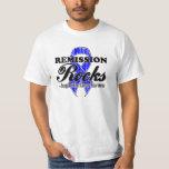 Remission Rocks - Colon Cancer Awareness T-shirt