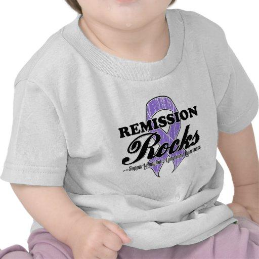Remission Rocks - Hodgkin's Lymphoma Awareness T-shirts
