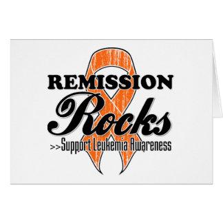 Remission Rocks - Leukemia Awareness Card