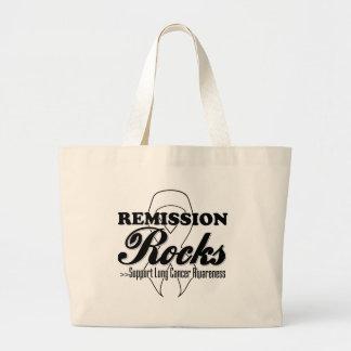 Remission Rocks - Lung Cancer Awareness Bag