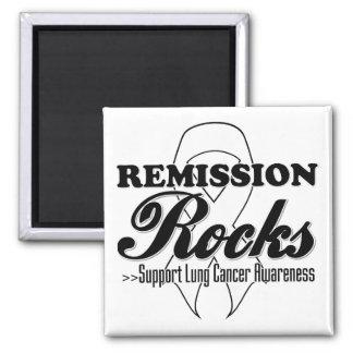 Remission Rocks - Lung Cancer Awareness Magnets