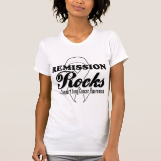 Remission Rocks - Lung Cancer Awareness Tee Shirt