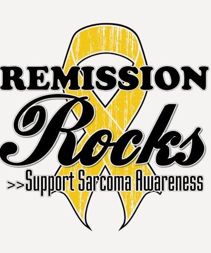 Remission Rocks - Sarcoma  Awareness Tshirt