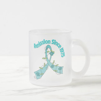 Remission Since 1975 Ovarian Cancer Coffee Mugs