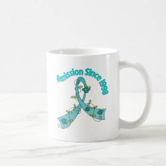Remission Since 1998 Ovarian Cancer Coffee Mugs