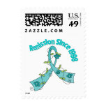 Remission Since 1998 Ovarian Cancer Stamps