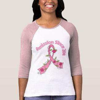 Remission Since 2011 Breast Cancer T-shirts