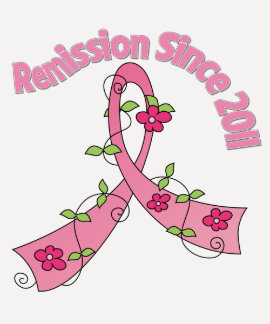 Remission Since 2011 Breast Cancer Tees