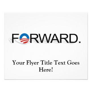 Remita para Obama 2012 Tarjeta Publicitaria