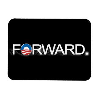 Remita para Obama 2012 Imanes De Vinilo