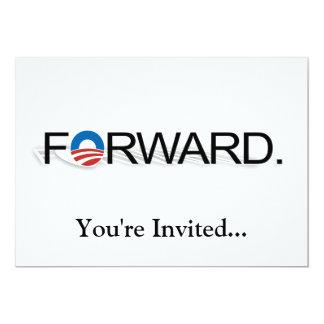 """Remita para Obama 2012 Invitación 5"""" X 7"""""""