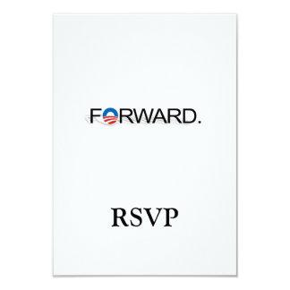 """Remita para Obama 2012 Invitación 3.5"""" X 5"""""""