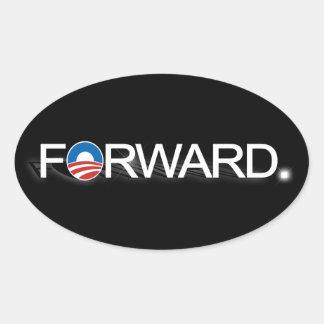 Remita para Obama 2012 Calcomanías Ovales